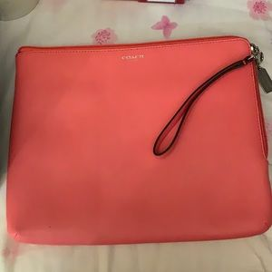 Coach small tablet case
